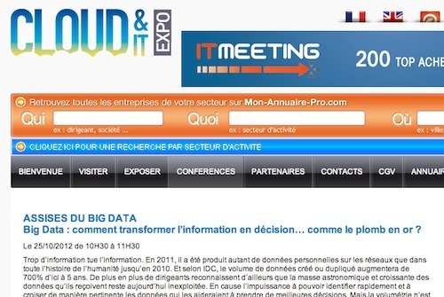 Big Data : Tarsus veut transformer le plomb en or...