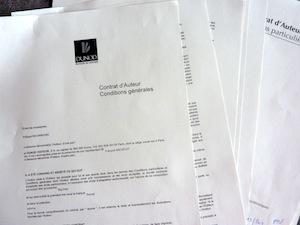 Contrat reçu, Dunod qui sera l'éditeur du premier livre en français sur le Big Data
