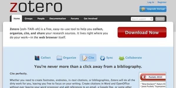 Gestion des citations et des références bibliographiques avec Zotero