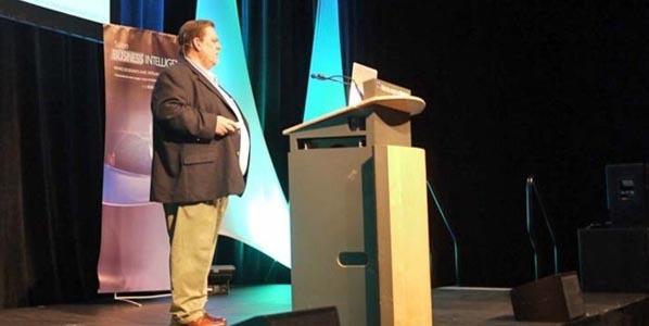 Shawn Rogers en 2012 au Salon BI de Montréal