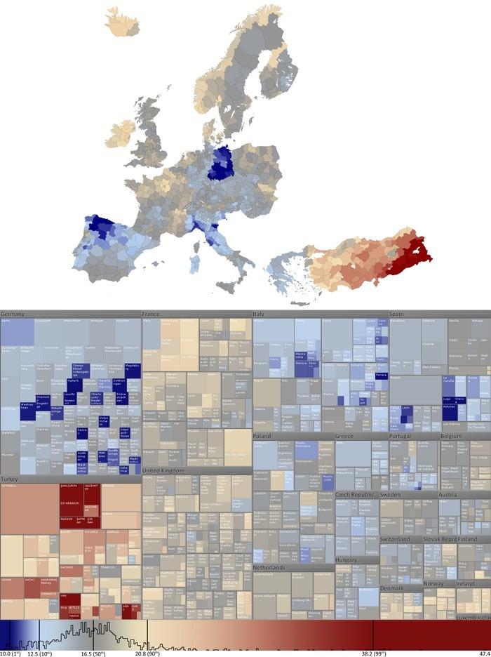 La « Data Visualization », 1ère des 10 tendances technologiques de 2011 (Etude DELOITTE)