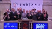 Tableau Software Makes Public Debut as DATA on the NYSE.MP4