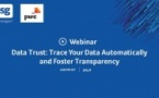 Webinar Trace Your Data Automatically and Foster Transparency