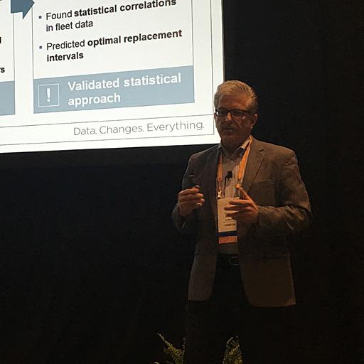 Bruce Baum, Big Data Architect chez Siemens partage son expérience à la conférence Teradata Partners 2016