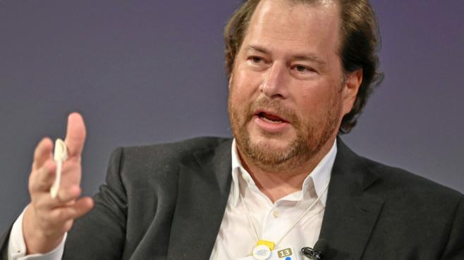 Marc Benioff, fondateur de Salesforce
