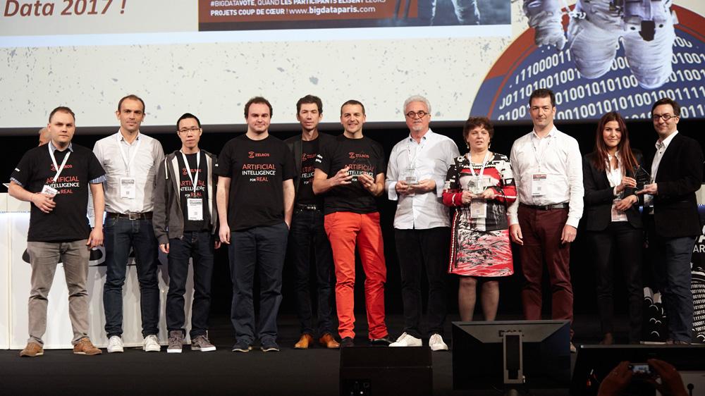 Le Congrès Big Data Paris 2017 récompense ses projets innovants