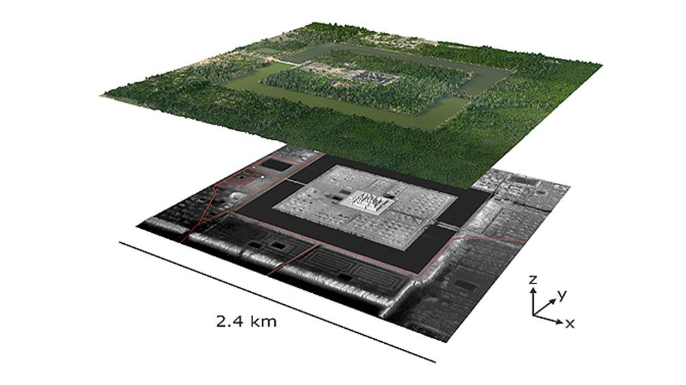 Big Data, Archéogéographie et Drone