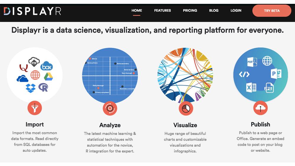 A suivre : DisplayR, une plate-forme de science des données en cloud