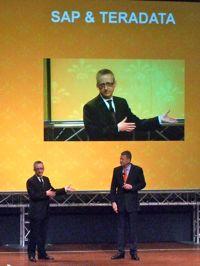 Stephan Rossius, SAP et Hermann Wimmer, Teradata