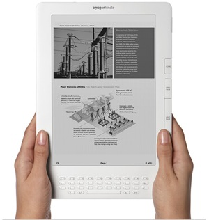 Le Kindle DX de Amazon