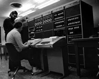 Un PDP11 sous Unix en 197X...