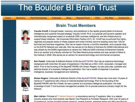 Les membres fondateurs du BBBT