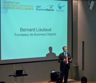 SAP BusinessObjects et Centrale Paris inaugurent ensemble une chaire de Business Intelligence