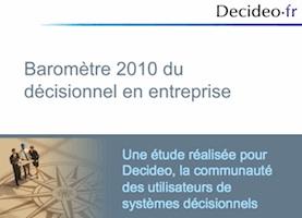 Séminaire en ligne de présentation des résultats du baromètre Decideo 2010