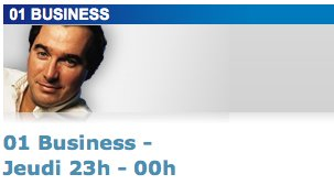 01 Business sur BFM : une heure d'émission consacrée au décisionnel