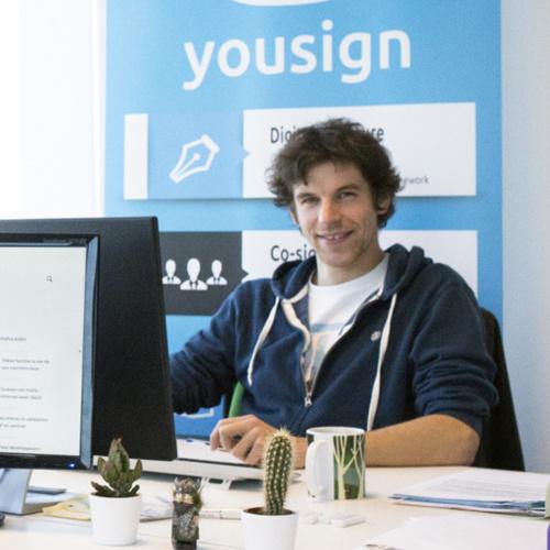 Antoine Louiset, co-fondateur de Yousign