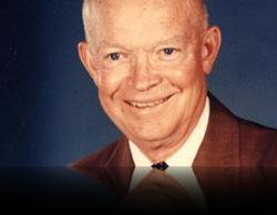 Le Président Eisenhower