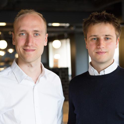 Lorenzo Pellizzari et Loic Winckelmans, fondateurs de Retviews