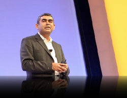 Vishal Sikka à SAP TechEd (Photo SAP)