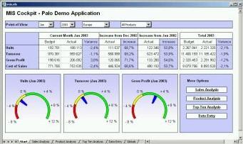 Palo fait découvrir son serveur OLAP avec une mini-application de BPM sous Excel