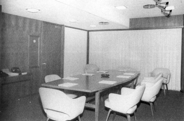 The Situation Room, circa 1962 (Kennedy Library)