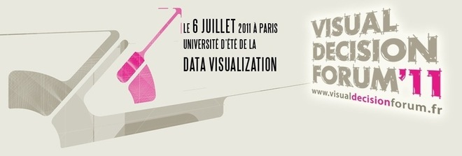 "Université d'été de la ""Data Visualization"", le 6 juillet à Paris"