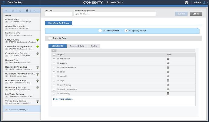 Cohesity acquiert Imanis Data afin d'améliorer la protection des données des charges de travail NoSQL et Hadoop