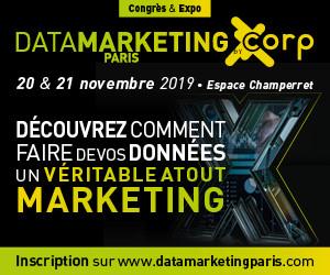 DATA MARKETING PARIS 2019 – 20 & 21 Novembre 2019 à Paris, Espace Champerret