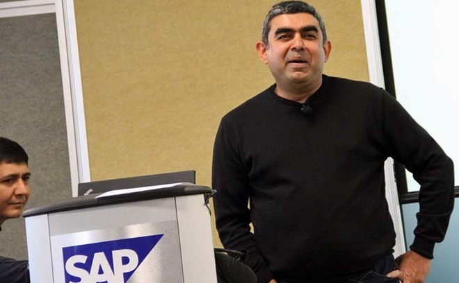 Dr. Vishal Sikka, le 7 mars au SAP Sartup Forum - Photo SAP