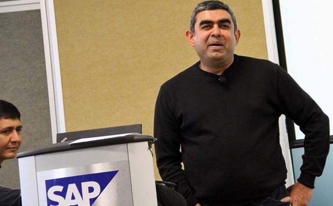 Dr. Vishal Sikka, le 7 mars au SAP Startup Forum - Photo SAP