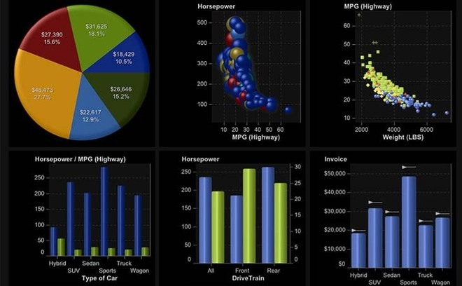 SAS Visual Analytics sur iPad