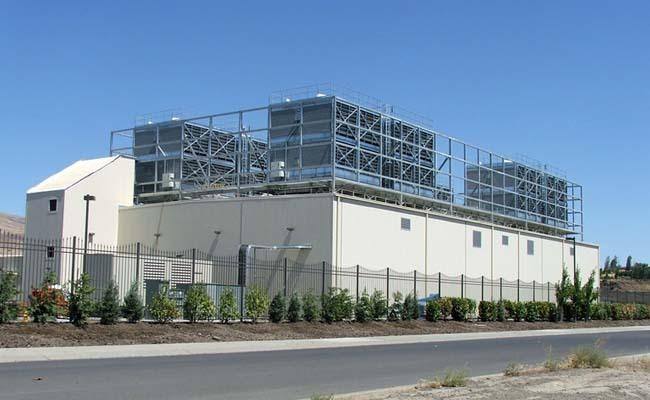 Un des centres de données de Google en Amérique du Nord