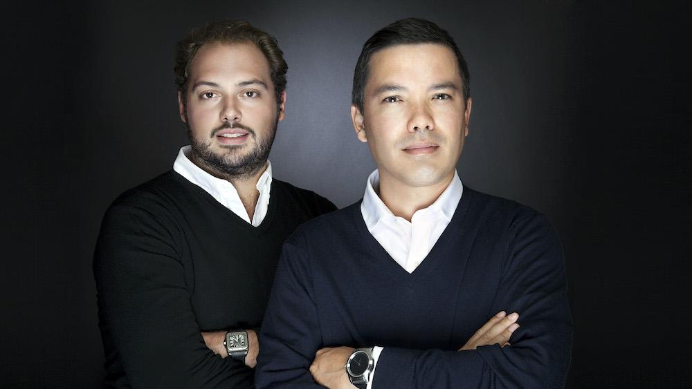 Jean-Marc Abelous et Arthur Auclair, CMO & VP Sales de Sightness