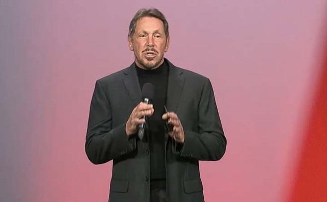 Larry Ellison à Oracle Open World 2012