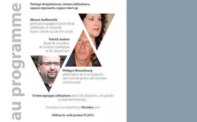 Le 6 décembre à Paris, nouvelle édition du Forum Decideo : 10 témoignages clients