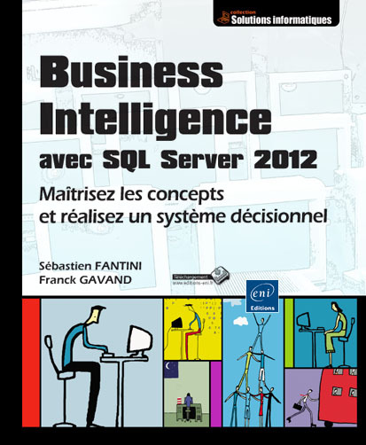 Parution du livre Business Intelligence avec SQL Server 2012