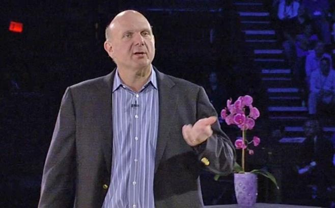 Steve Ballmer, CEO de Microsoft à Houston le 08/07/2013