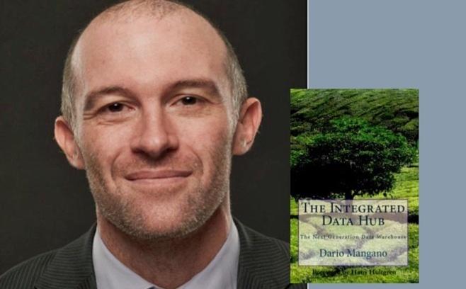 "Dario Mangano et son livre ""The Integrated Data Hub"""