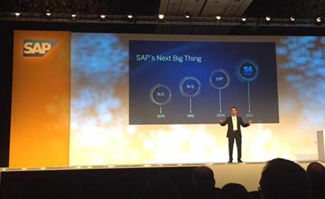 Bill McDermott, CEO de SAP, présente S4 HANA depuis Barcelone
