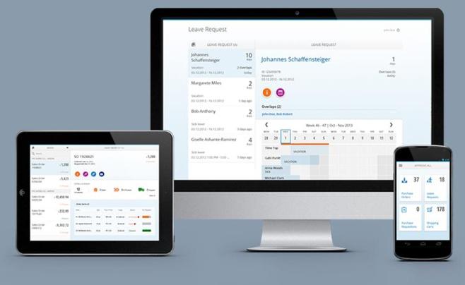 Interface utilisateurs SAP FIORI