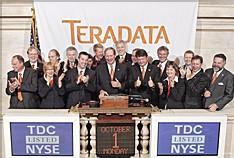Première semaine de cotation très contrôlée pour Teradata