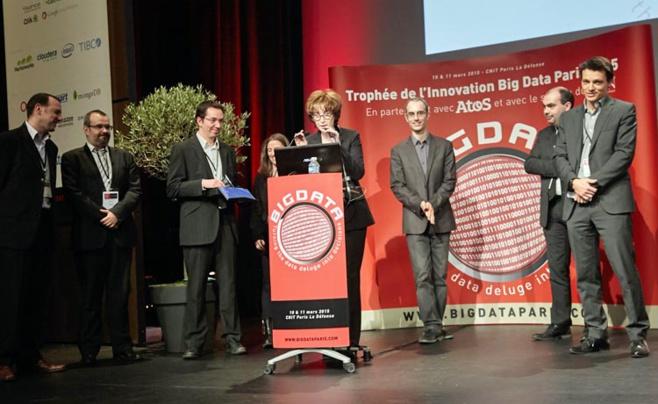 Le congrès Big Data Paris 2015 récompense ses projets innovants