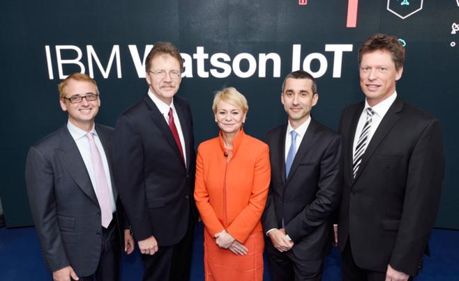 IBM annonce l'ouverture de son siège mondial « Watson IoT » à Munich