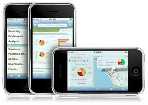 Pentaho première application BI sur iPhone