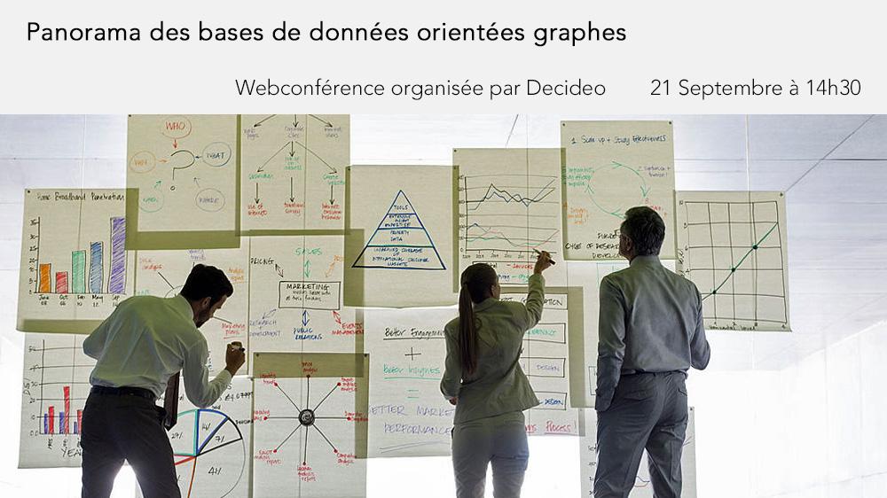 21 septembre à 14h30 (CEST) - Webinaire : Panorama des bases de données orientées graphes, architecture, technique, usages