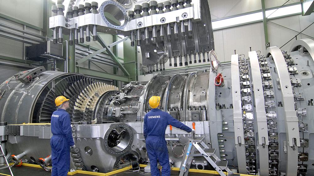Chaque turbine à gaz de Siemens comprend 5000 capteurs