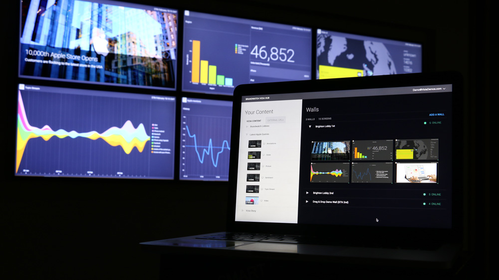 Découvrez la plateforme Vizia 2 : Donnez du sens à vos données avec un nouveau mode de communication des insights