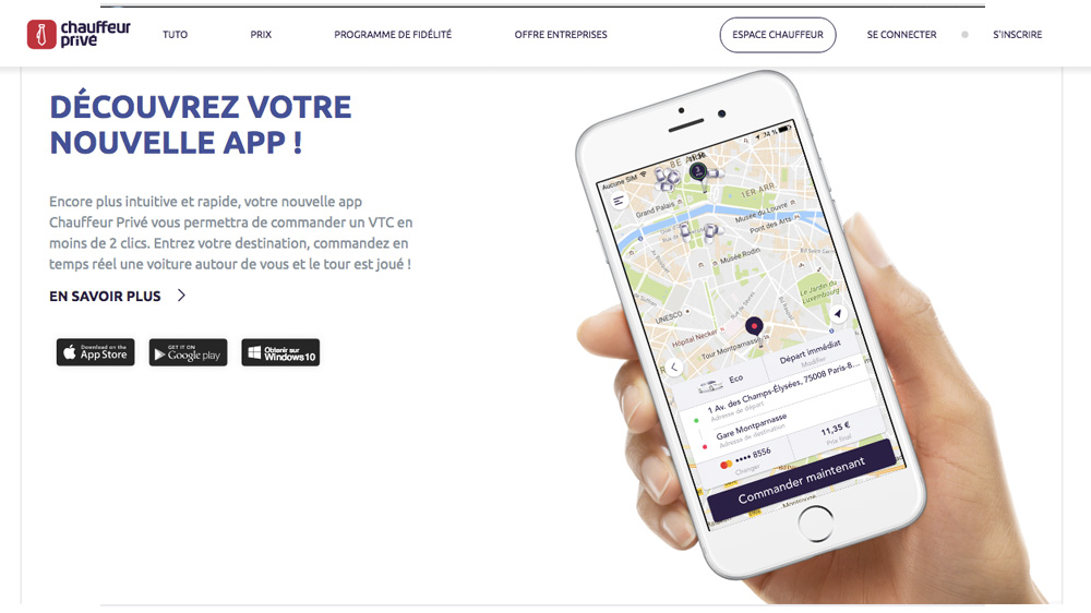 Avec l'Intelligence Artificielle d'Emarsys, Chauffeur Privé augmente ses conversions de 20% en automatisant ses campagnes marketing