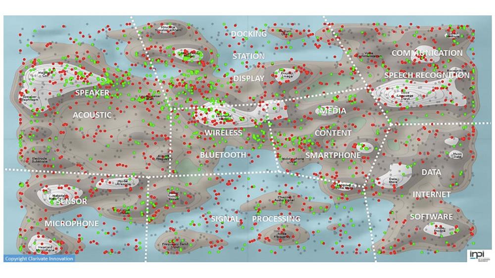 L'INPI annonce l'analyse cartographique des inventions brevetées