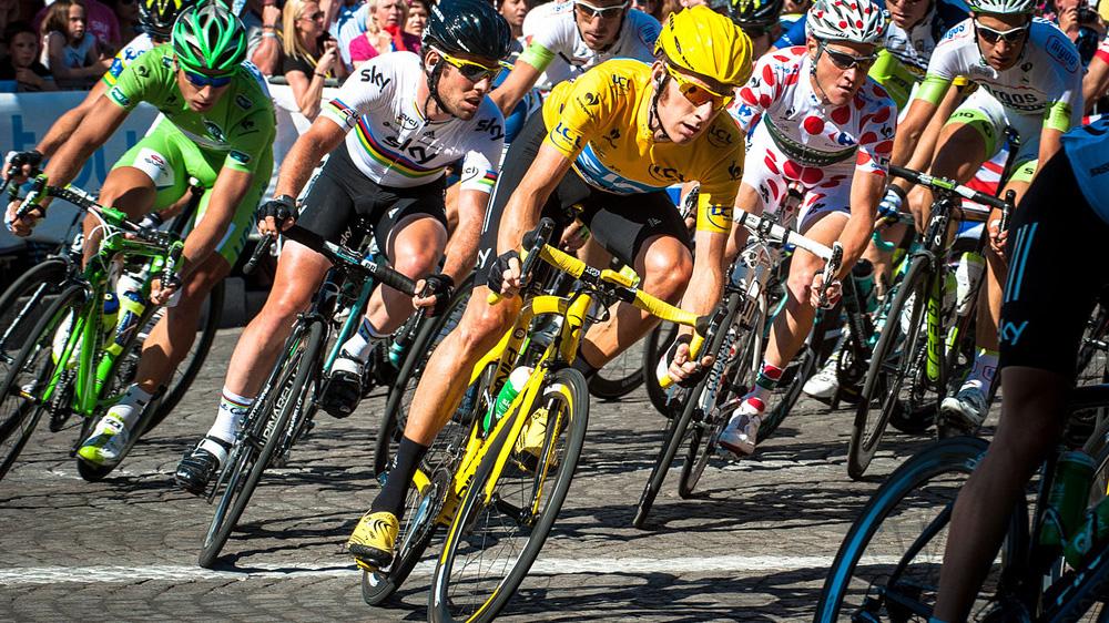 Le machine learning arrive sur le Tour De France